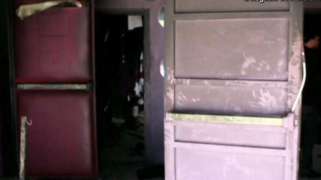 Inside of destroyed nightclub revealed