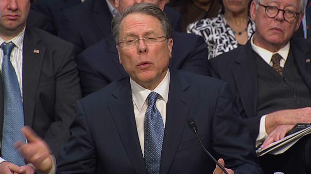NRA chief questions gun show checks