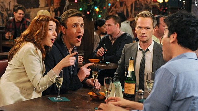 "The hit series ""How I Met Your Mother"" helped CBS win in the ratings."