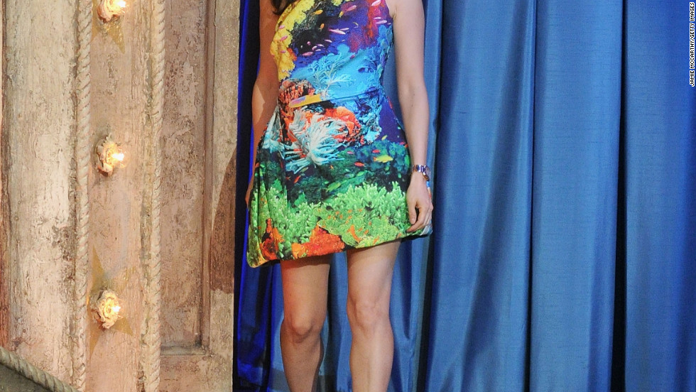 """Lucy Liu visits """"Late Night With Jimmy Fallon"""" in New York City."""