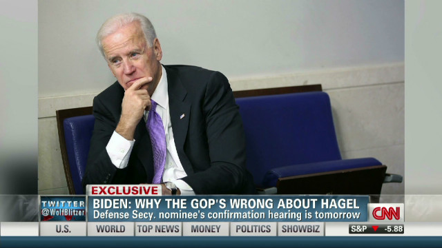 Biden: Why the GOP's wrong about Hagel