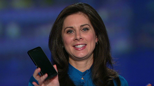 Erin Burnett test drives BlackBerry 10