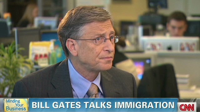 MYB: Bill Gates talks immigration