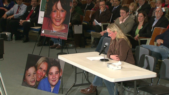 Newtown parents plead for change