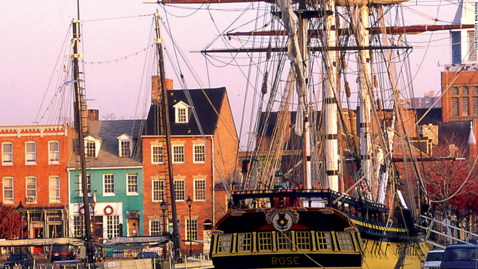 "Between 1784 and 1821,some 800 ships were constructed at shipyards in Fell's Point, the most famous of which were the <a href=""http://www.maritimeheritage.org/ships/baltimoreClippers.html"" target=""_blank"">Baltimore Clippers that irritated the British in the War of 1812</a>."
