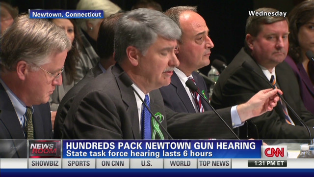 "Victim's dad: ""we don't need those"" guns"