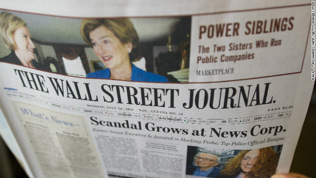 Employees at the Wall Street Journal's China bureau have been cleared of accusations they bribed Chinese officials