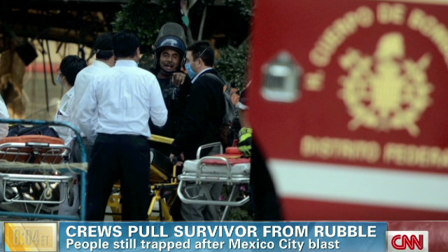 25 killed in Mexico City explosion