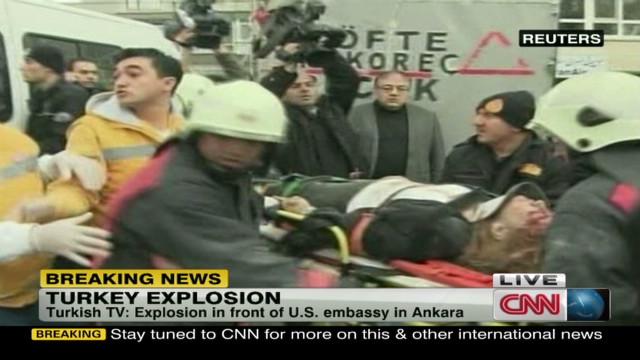 Fatal blast near U.S. Embassy in Turkey