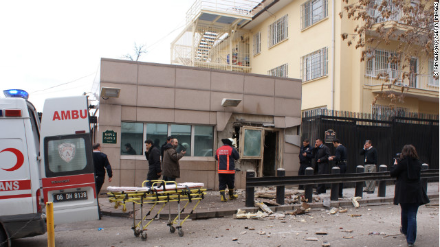 'Sophisticated' bombing at US embassy?