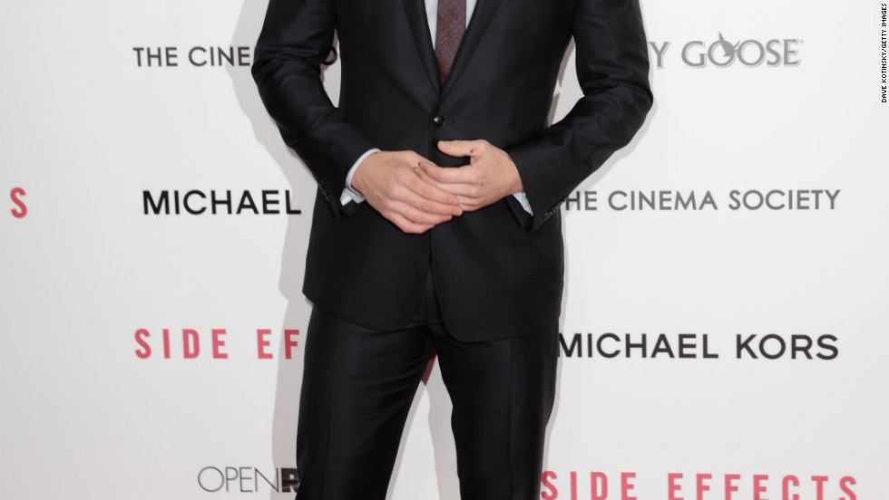 "Channing Tatum attends the premiere of ""Side Effects"" in New York City."
