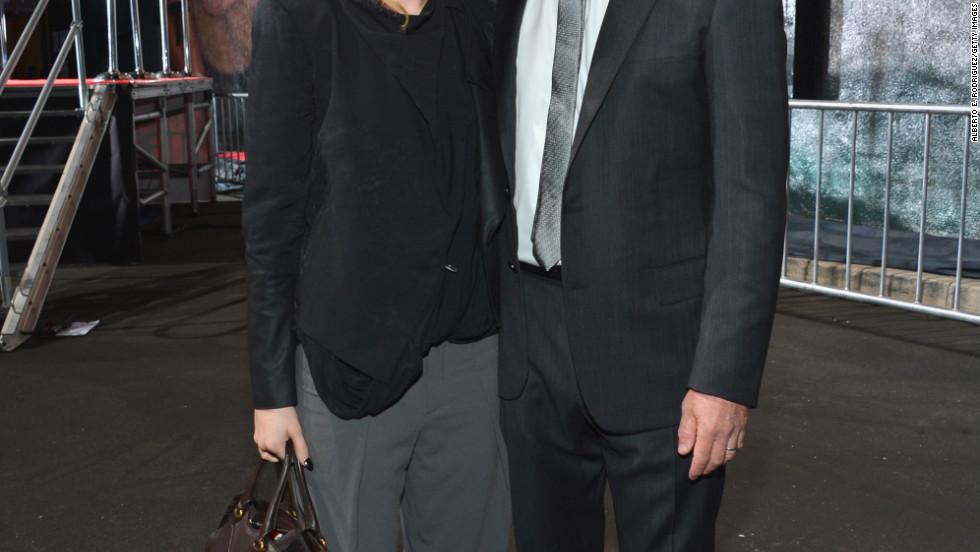 "Rumer Willis and Bruce Willis celebrate 25 years of ""Die Hard"" in Century City, California."