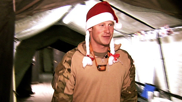 How soldier Prince Harry spent down time