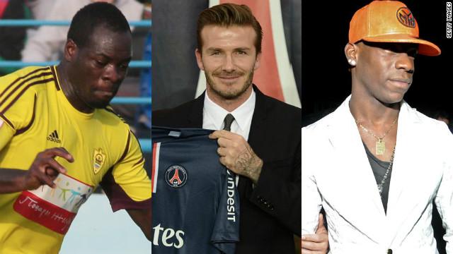 Mario Balotelli, David Beckham and Christopher Samba were the stars of transfer deadline day.