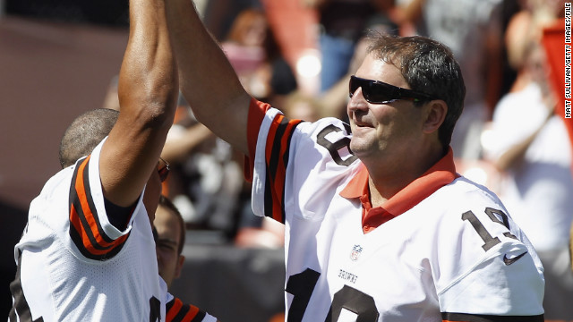 Bernie Kosar says this doctor cured him