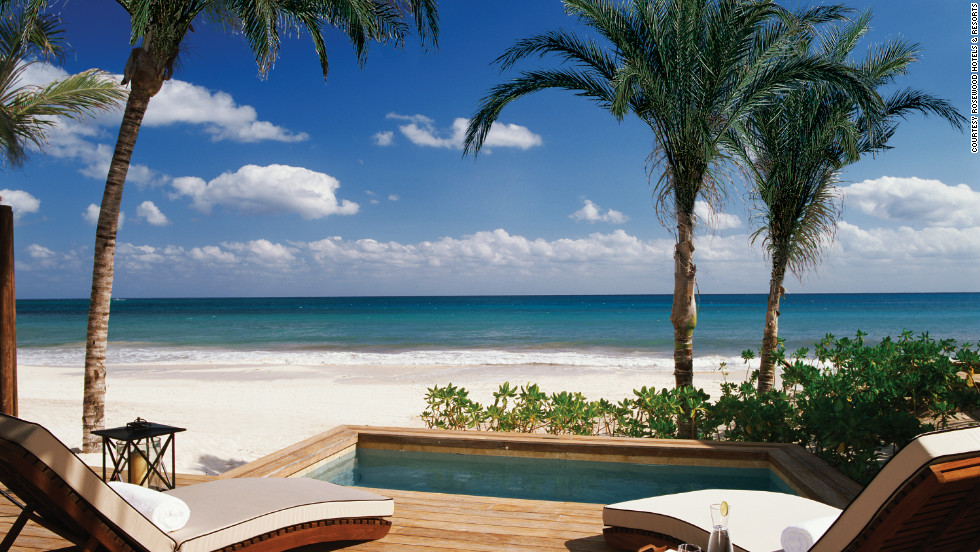 "Mayakoba (which means ""village of water"") is often called the Venice of the Caribbean. It's perfect for honeymooners or a group of girlfriends willing to spend on a decadent spa getaway or other exclusive resort vacation."