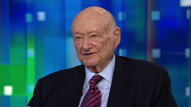 Ed Koch:  I created the foundation