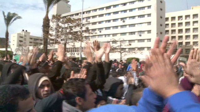 Egypt's Port Said at boiling point