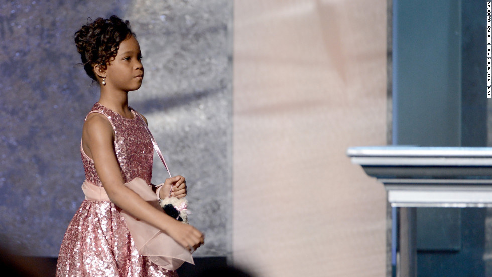 "... Davis' fellow nominee in the same category, 9-year-old ""Beasts of the Southern Wild"" actress Quvenzhané Wallis."