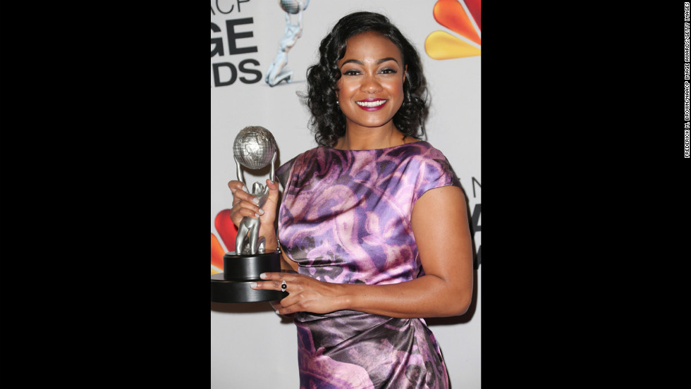 "Tatyana Ali won Actress in a Daytime Drama Series for ""The Young and the Restless."""