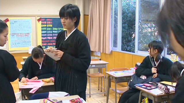 Inside a North Korean school in Japan