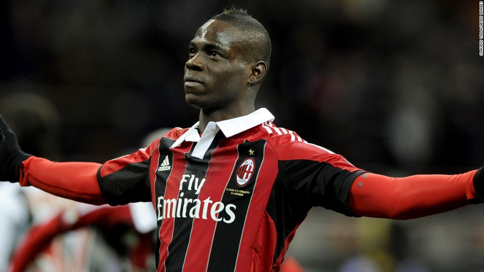 "At the end of January, Boateng had a new teammate after AC Milan owner Silvio Berlusconi sanctioned a $30 million deal to sign striker Mario Balotelli from Manchester City.  Berlusconi had previously branded Balotelli a ""rotten apple."""