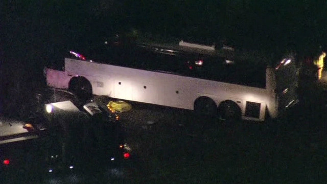Deadly bus crash kills 8, dozens injured