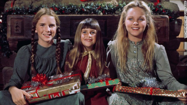 "The stars of the 1970s NBC TV show ""Little House on the Prairie"" pose for a photo. Melisssa Sue Anderson, far right, played Mary Ingalls Kendall. Melissa Gilbert as Laura Elizabeth Ingalls Wilder, Lindsay or Sydney Greenbush as Carrie Ingalls, Melisssa Sue Anderson as Mary Ingalls Kendall."