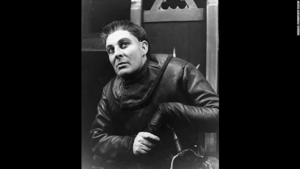 Paul Daneman as Richard III, 1962.