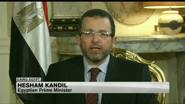 Egypt's Prime Minister Hesham Kandil