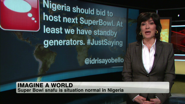 Nigeria, Super Bowl have power problems