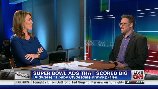 Super Bowl ads that scored big