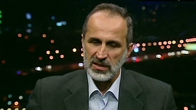 Who is Syria's opposition leader?