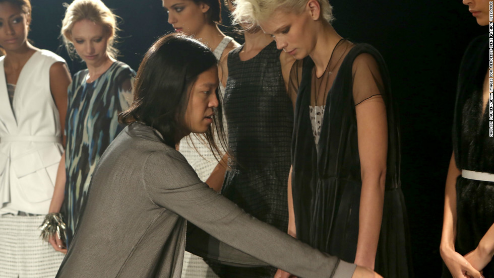 Before launching his label of fur accessories in 2011, Brandon Sun, 31, worked for design powerhouses J. Mendel and Oscar de la Renta. Sun's ready-to-wear collections, which debuted at Fashion Week in February 2012, are known for pairing slim silhouettes with luxe accents, such as his signature furs.
