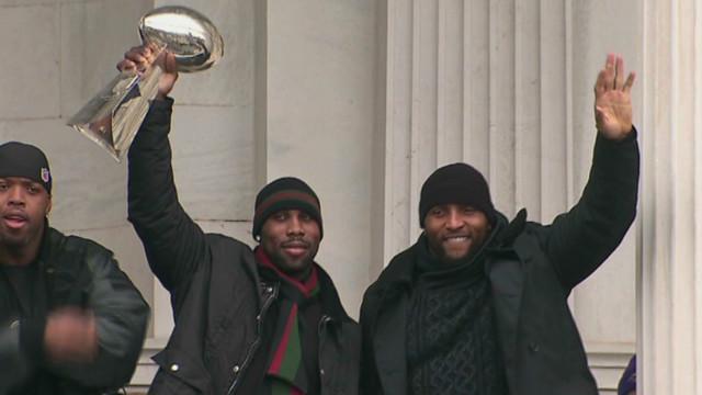 Ravens celebrate Super Bowl victory