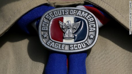 The Boy Scouts of America's national council is considering whether to drop its ban on gays and leave the decision up to local units.
