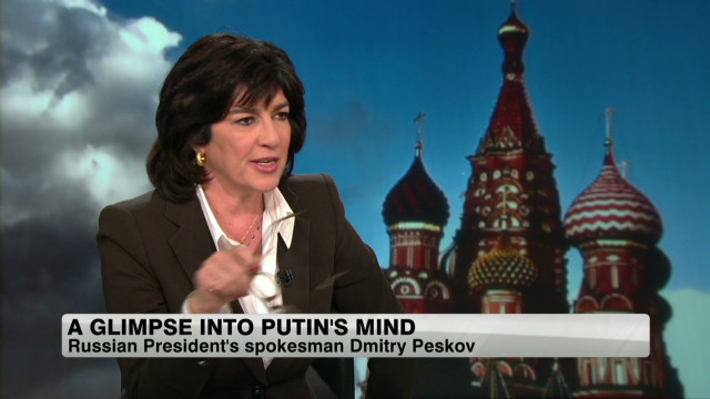 A glimpse into Putin's mindset