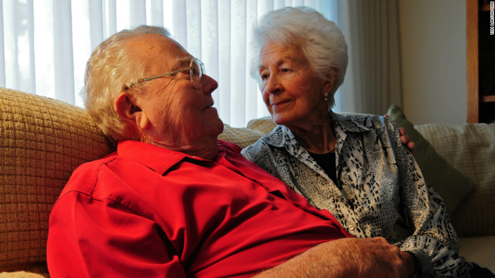 Lloyd and Marian Michael were married more than 70 years ago in the midst of World War II. While Lloyd served in Europe, the young couple stayed in touch through hundreds of heartfelt love letters, which they kept locked away in a trunk for decades after the war.