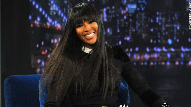 Naomi Campbell visits 'Late Night With Jimmy Fallon' at Rockefeller Center on February 5, 2013 in New York City.