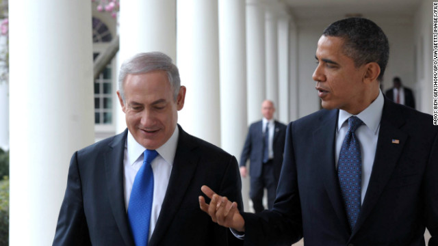 Israeli Prime Minister Benjamin Netanyahu visits President Barack Obama at the White House last year.