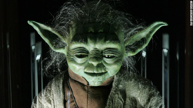 Jedi Master Yoda is one of the characters makeup artist Stuart Freeborn helped develop.