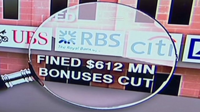 RBS fined for Libor rigging