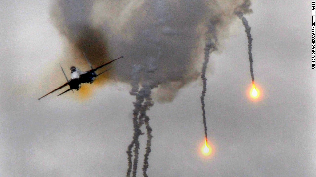 [File photo] Russian Su-27 fighter jets at the Obuz-Lesnovsky firing range near Baranovichi, September 29, 2009.