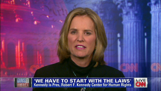 Kerry Kennedy on Gun Culture