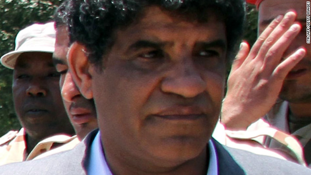 Head of Libyan intelligence, Abdullah al-Senussi, 62, is pictured in Tripoli on June 22, 2011.