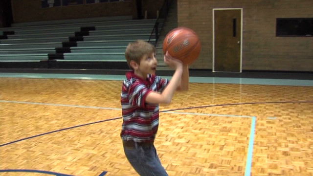 Illness can't stop boy's hoop dreams