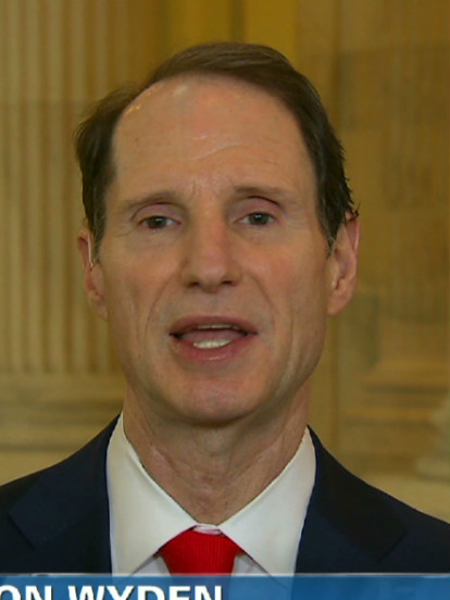 Sen. Ron Wyden places hold on Treasury nominee for Russia financial documents