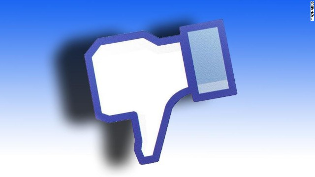 An error with Facebook's log-in tool killed access to hundreds of sites for about 10 minutes Thursday evening.