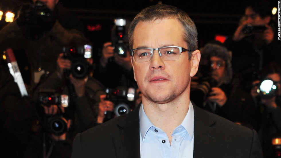 "Matt Damon attends the ""Promised Land"" premiere in Berlin, Germany."