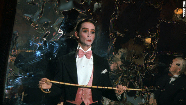 Grey was the Master of Ceremonies onstage and in the film.